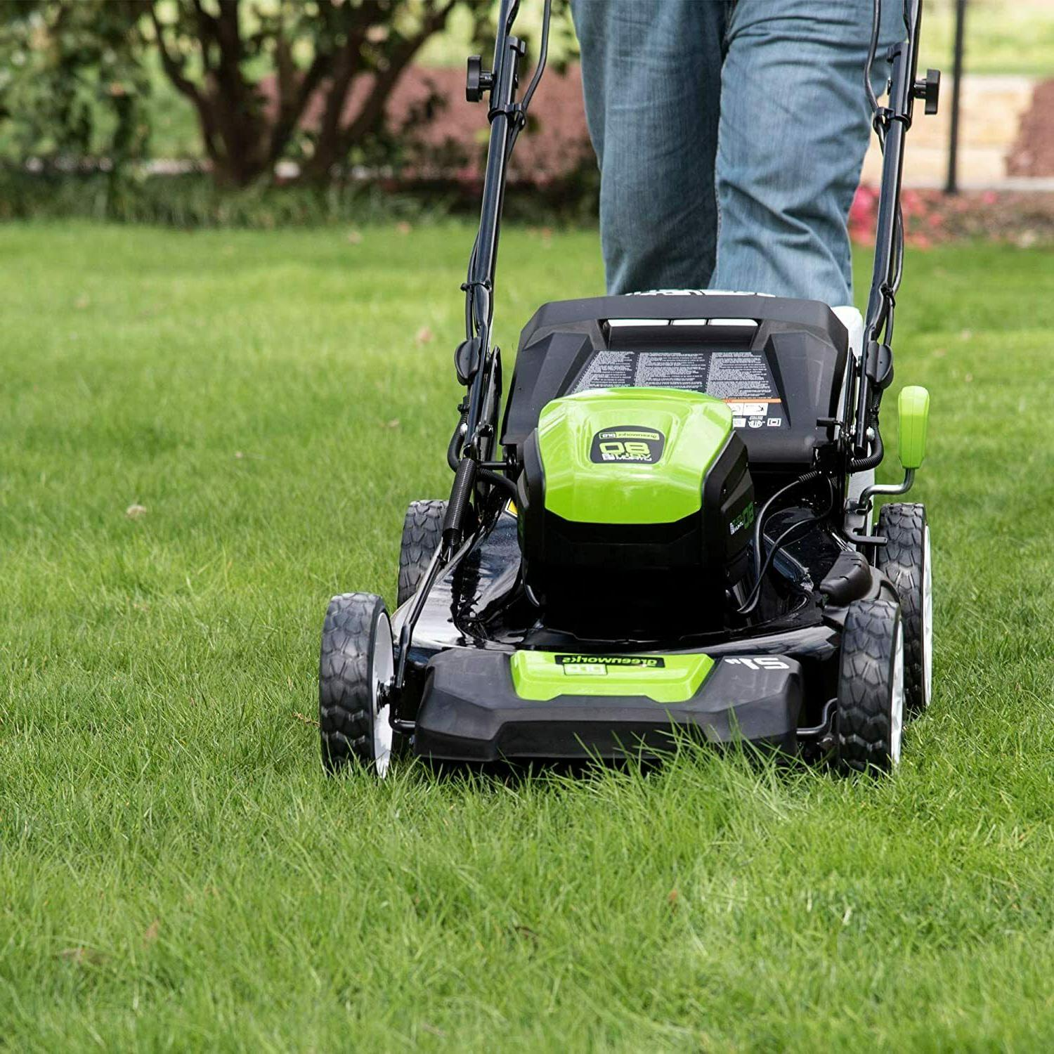 NEW 80V 21 in. Cordless Lawn Mower