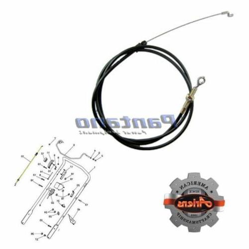 oem lawn mower engine control cable 06921100