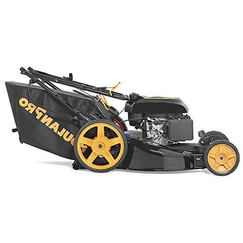 Poulan Pro in. & Stratton 3-in-1 Walk Front-Wheel-Drive Mower