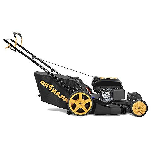 Poulan in. 174cc Stratton 3-in-1 Front-Wheel-Drive Mower