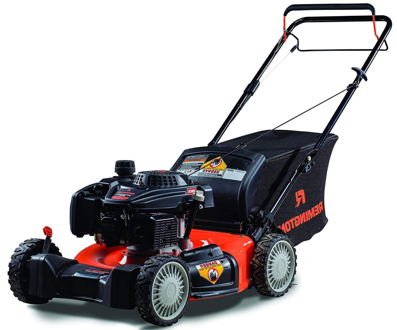 Remington cc 21-Inch Rwd Self-Propelled 3-in-1 Lawn