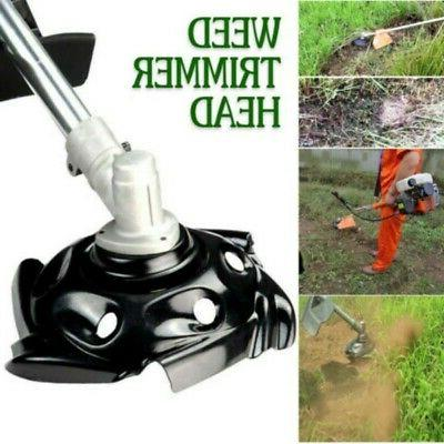 Weed Trimmer Head Lawn Weeding Garden Tray Mower Sharpener P