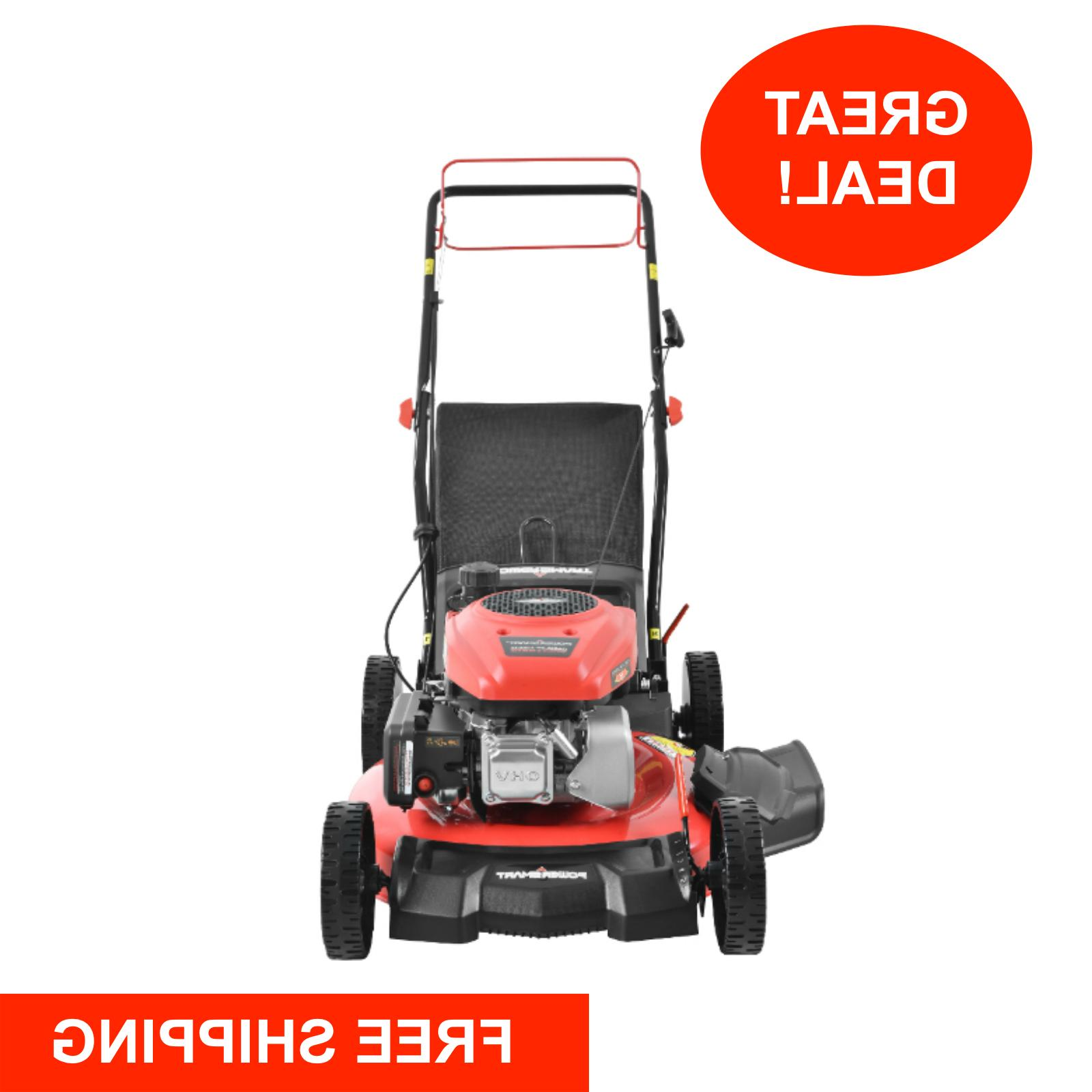 self propelled lawn mower gas powered 21