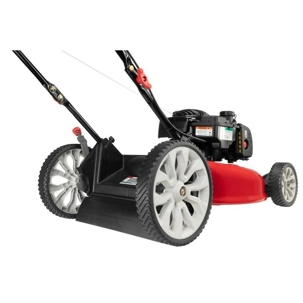 Troy-Bilt Self Mower 21 in. Gas Tri-Action Cutting