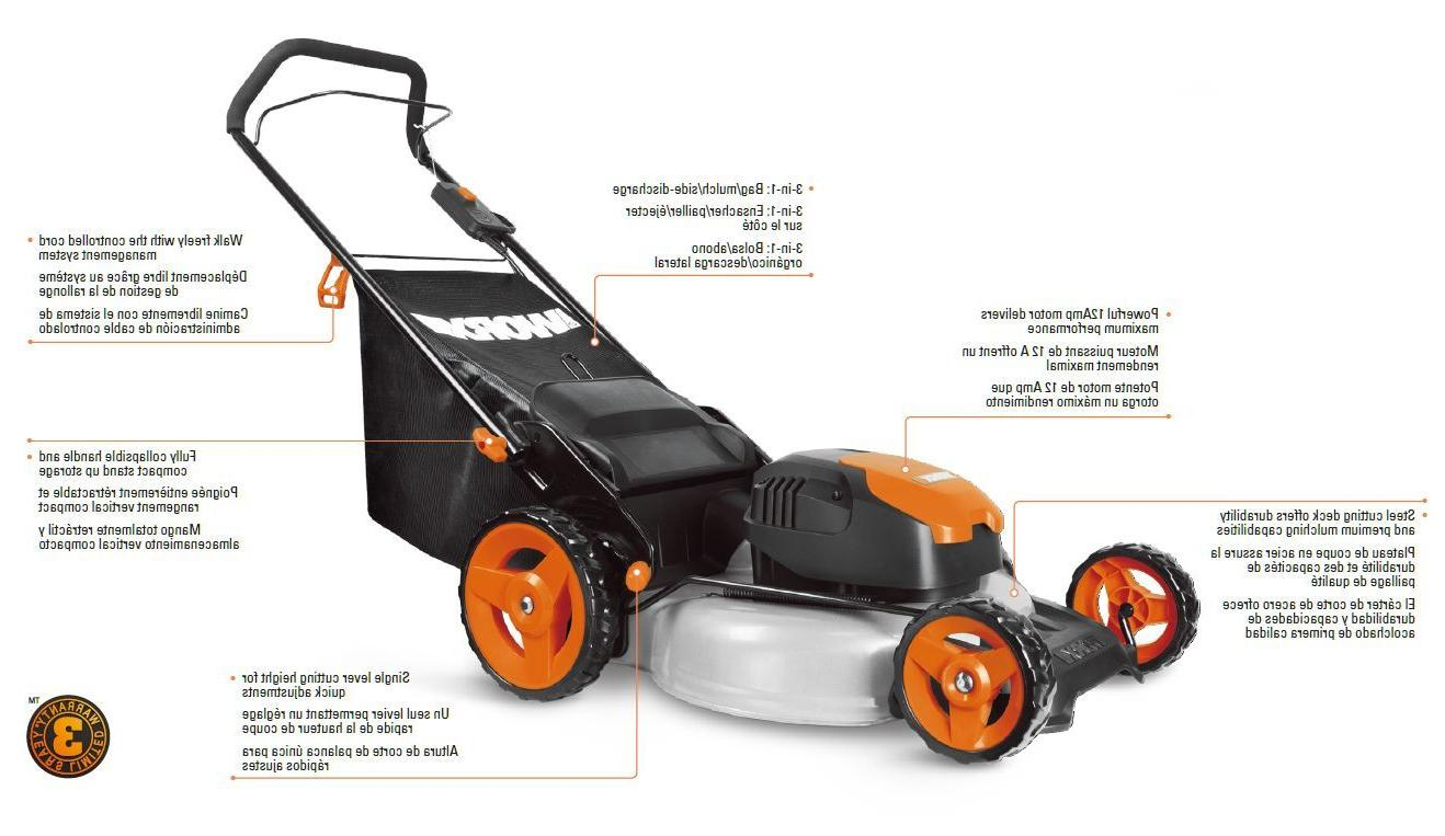 "WORX WG720 12 19"" Electric"