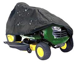 IC ICLOVER Lawn Mower Cover, Waterproof 210D Polyester Oxfor