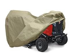 RORAIMA Lawn Mower Tractor Cover with Elastic Hems to Fit a