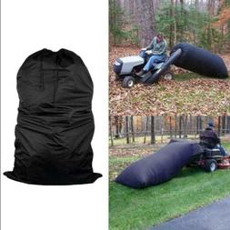 lawn tractor leaf bag mower catcher riding