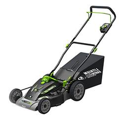 Earthwise 60418 18-Inch 40-Volt Lithium Ion Cordless Electri