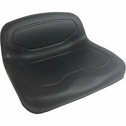 Milsco Lowback Lawn/Garden Mower Seat — Black, Model# TS33