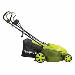 MJ402E Mow Joe 16-Inch 12-Amp Electric Lawn Mower + Mulcher