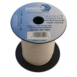 New Stens 145-608 100' Diamond Braid Starter Pull Rope Cord