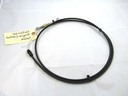 oem gravely lawn mower engine control cable