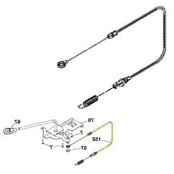 oem lawn mower clutch cable