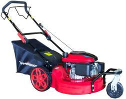 Powersmart 196Cc Gas Self Propelled Lawn Mower Side Discharg