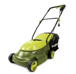 Push Lawn Mower Corded Electric Walk Behind Compact Lightwei