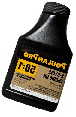 QTY 2 QUANTITY TWO. POULAN PRO 50:1 OIL MIX. EACH 2.6OZ->1 G