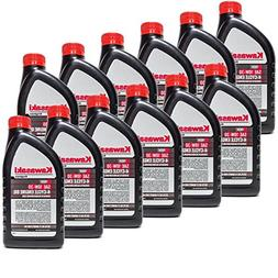 Kawasaki 12PK Quart Genuine OEM 4 Cycle Engine Oil K-TECH SA