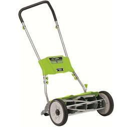 Earthwise 515-18 18-Inch Quiet Cut Push Reel Lawn Mower