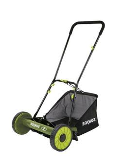 Sun Joe Reel Mower 5-Blade Manual Push Mower with Grass Coll