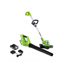 NEW Straight Shaft Powered Trimmer Weed Eater Battery Powere