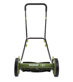 Sun Joe MJ504M 16-Inch Manual Reel Mower w/o Grass Catcher