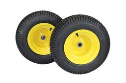 16x6.50-8 Tires & Wheels 4 Ply for Lawn & Garden Mower Turf
