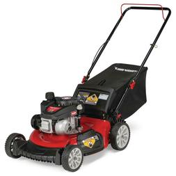 "Troy-Bilt Gas Lawn Mower 21"" 140cc Walk Behind Push 3-in-1 C"