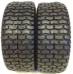 TWO LAWN 15X6X6 NHS 15X6.00-6 Turf Tires Garden Tractor Lawn