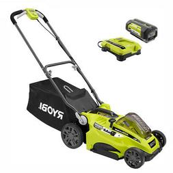 Walk Behind Battery Push Mower 40-Volt 16 in. Lithium-Ion Co