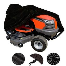VVHOOY Waterproof Lawn Tractor Mower Cover,54inch 210D Oxfor