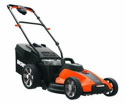 Worx WG744.9 17-inch 40V Cordless Lawn Mower, Bare Tool Only