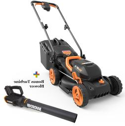 FREE 2-Speed Turbine Blower WG547 With 20V Cordless Lawn Mow