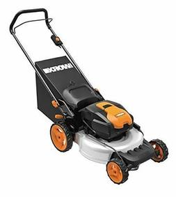 WORX WG772 56V Lithium-Ion 3-in-1 Cordless Mower with Intell