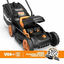 WORX WG958 20V PowerShare Cordless Lawn Mower WG779 + Turbin
