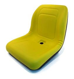 A&I Products New Yellow HIGH Back SEAT for John Deere Lawn M